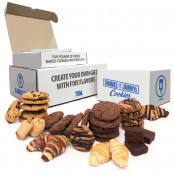 5lb Assorted cookie tin | For the Cookie Monster in your Family. Choose 5 flavors of Gimmee Jimmy's Cookies and Rugelach