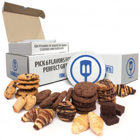 6lb Tin Of Homemade Cookies Designed By You! Pick Your 6 Favorite Flavors for the office