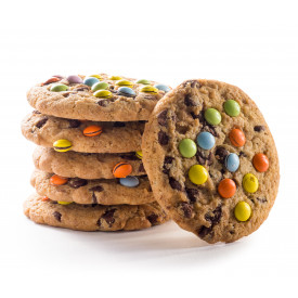 M&M and Chocolate Chip Cookies
