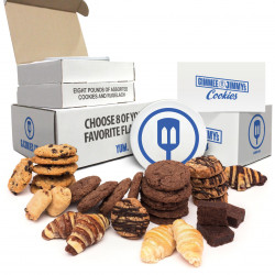 8lb Assorted Cookies Value Pack For Larger Groups and Parties|8 Flavors!!