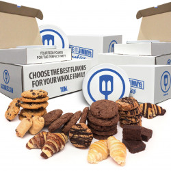 14lb Assorted Cookie Tin  |You Pick Your Favorite 7 flavors at 2lb each! The Office Hero