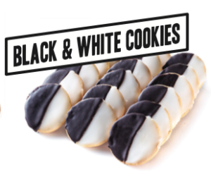 Gimmee Jimmy's Black and White Cookies